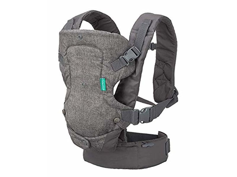 2. Infantino Flip Advanced 4-in-1 Convertible Baby Carrier