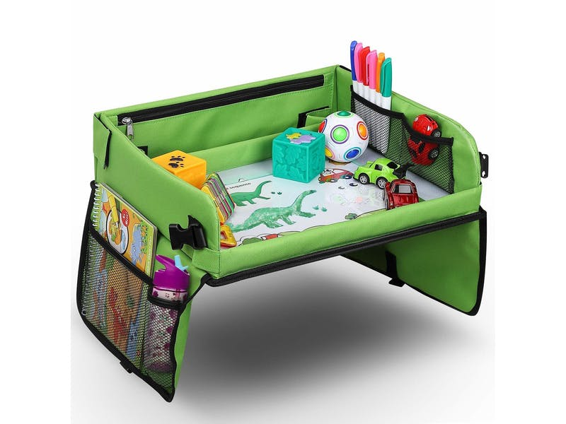 8. Snack & Play Travel Tray