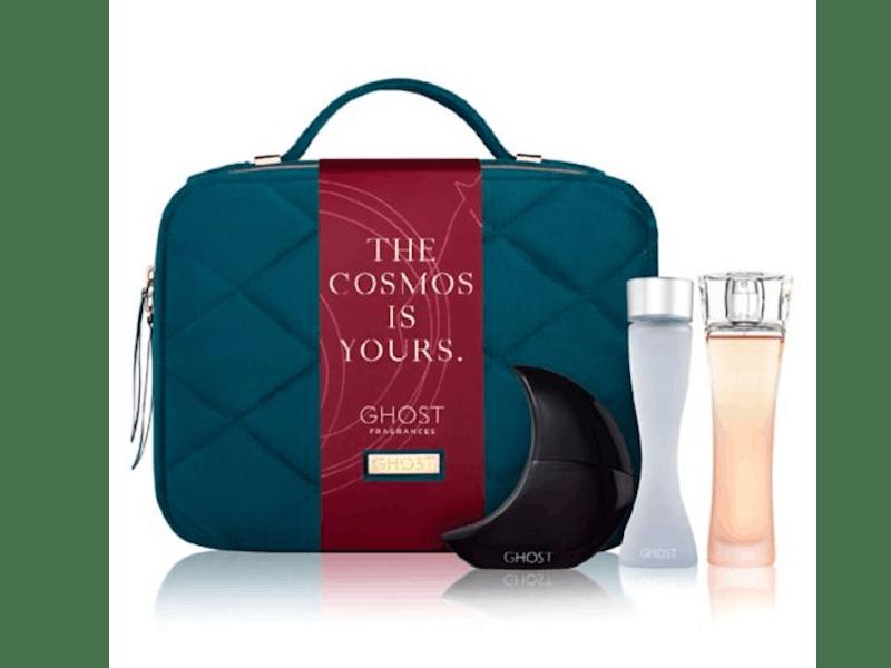 Ghost Vanity Case with 3x 30ml Fragrances