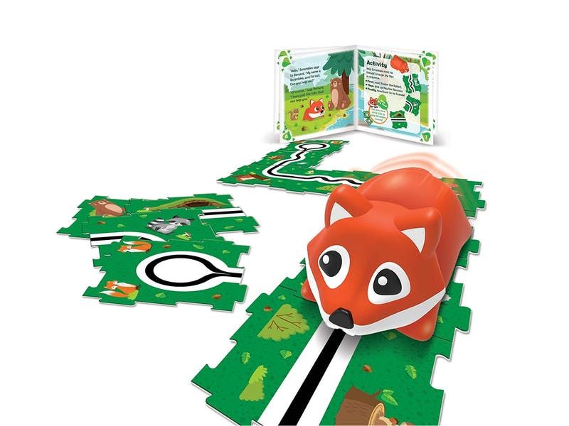7. Critters Go Scrambles The Fox Coding Toy