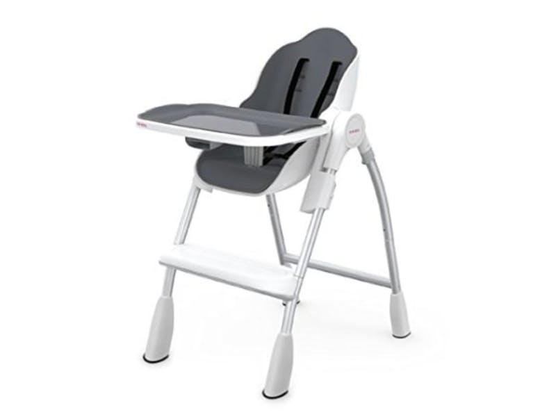 1. Oribel Folding Reclining Highchair