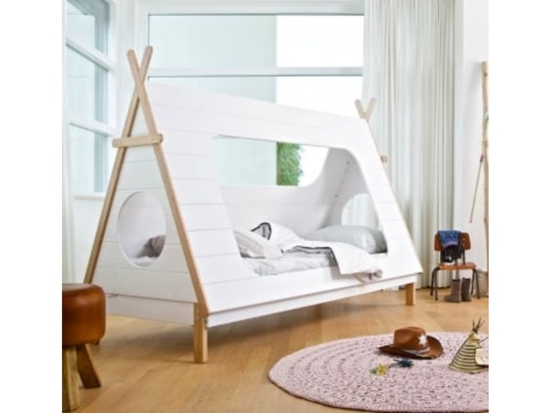 2. Tent-Style Bed