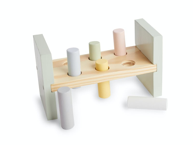 Small Wooden Baby Play Bench