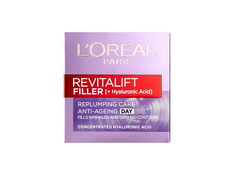 1. L'Oreal Paris Revitalift Filler + Hyaluronic Acid Anti Ageing Day Cream WAS, £19.99 NOW