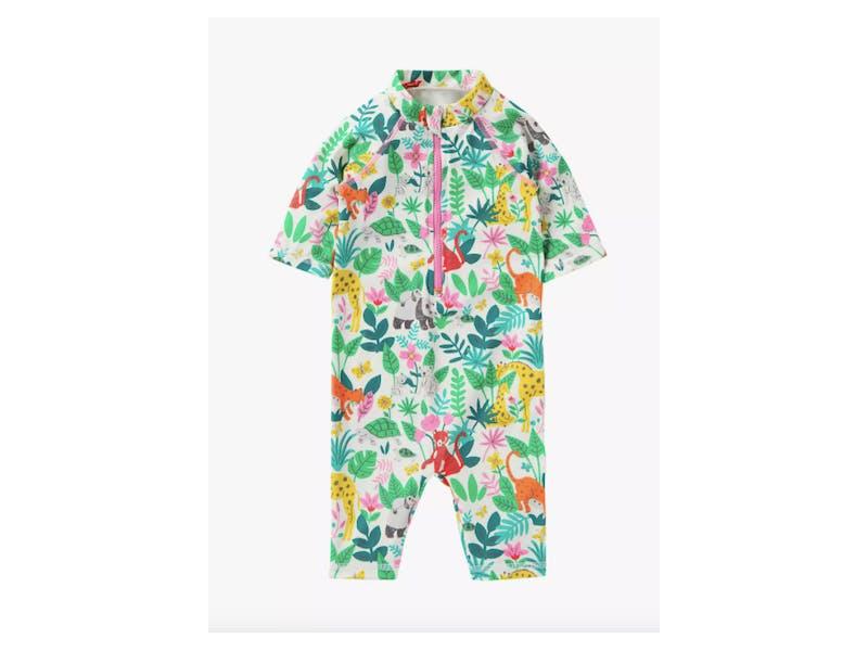 Mini Boden Baby Jungle Surf Suit