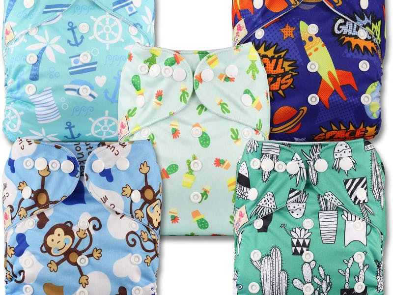 1. Littles & Bloomz Nappies (5-pack)