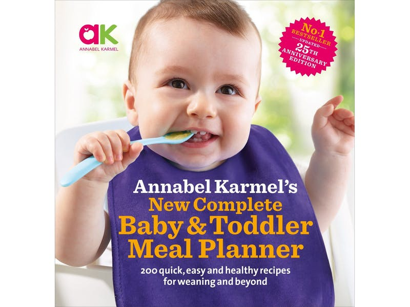 1. Complete Baby & Toddler Meal Planner by Annabel Karmel, £9.87