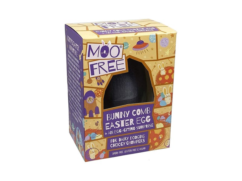 Moo Free Easter Bunny Comb Egg