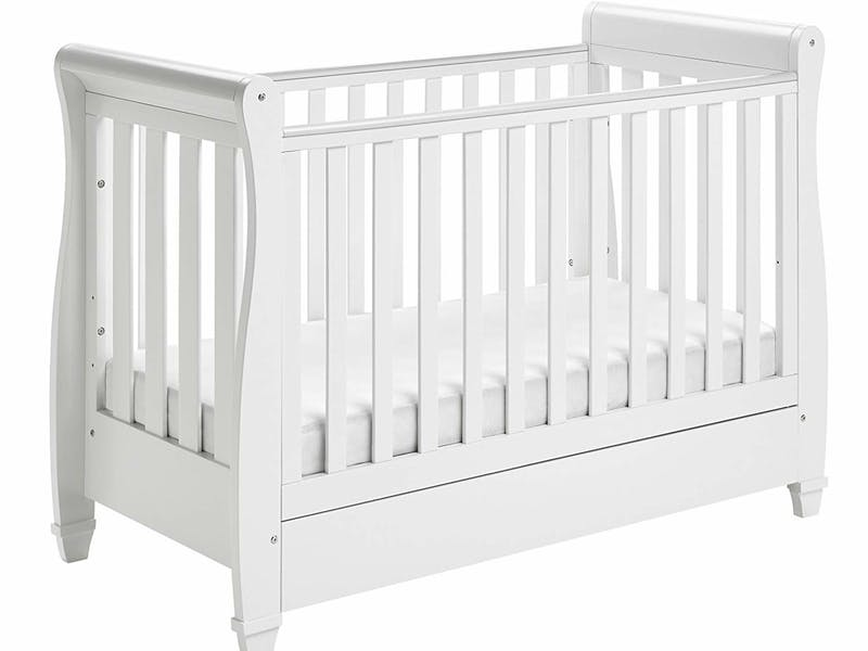 5. Babymore Eva Sleigh Cot Bed