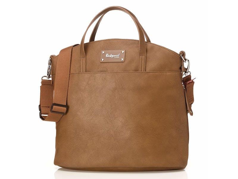 1. Babymel Satchel Nappy Changing Bag