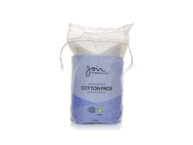 1. Organic Cotton Pads (five-pack)