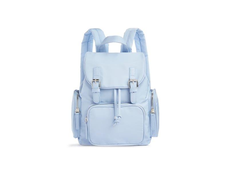 12. Powder Blue Backpack, £10