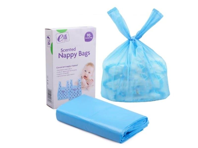 6. Fragranced Nappy Sacks