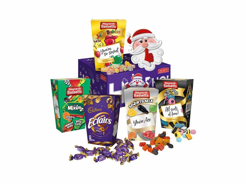 Christmas Sweetshop Hamper