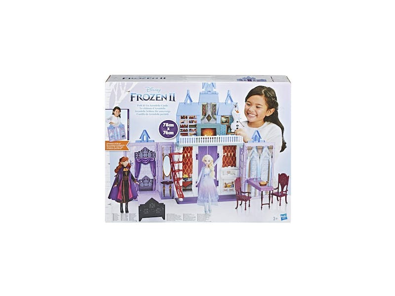 1. Disney FROZEN Fold and Go Arendelle Castle Playset WAS, £49.99 NOW