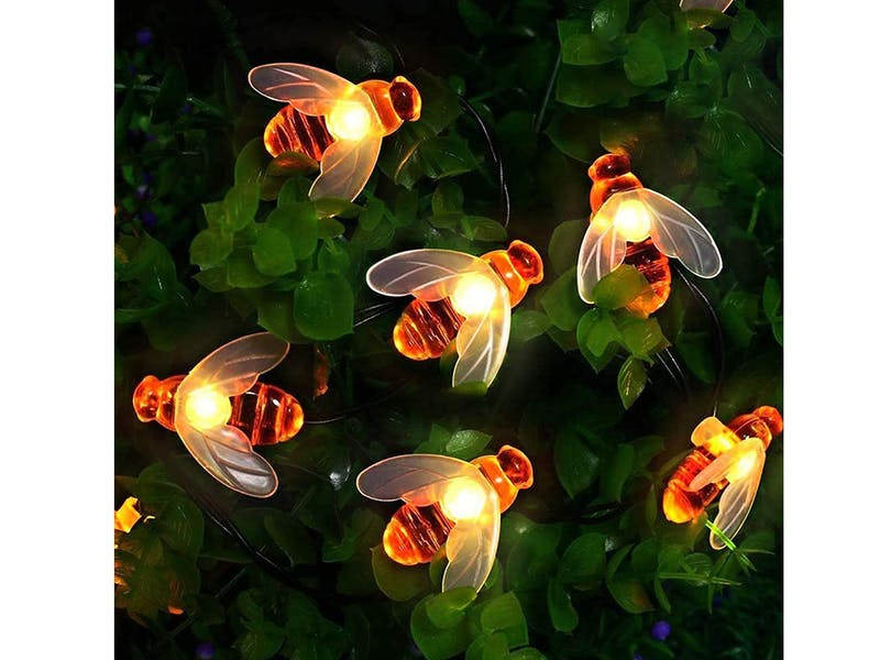 Solar Garden Bee Lights