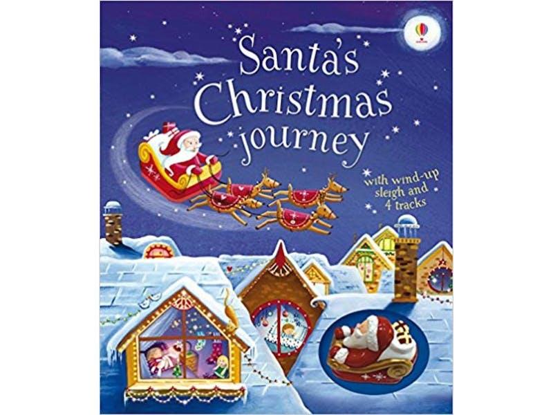 24. Santa's Christmas Journey with Wind-Up Sleigh by Fiona Watt, £7.38