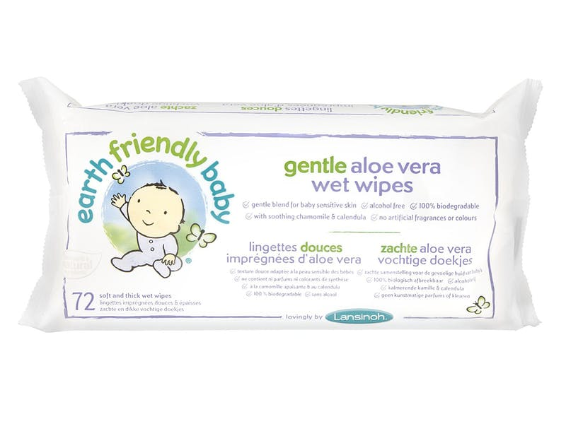 3. Gentle Aloe Vera Wipes (10-pack)