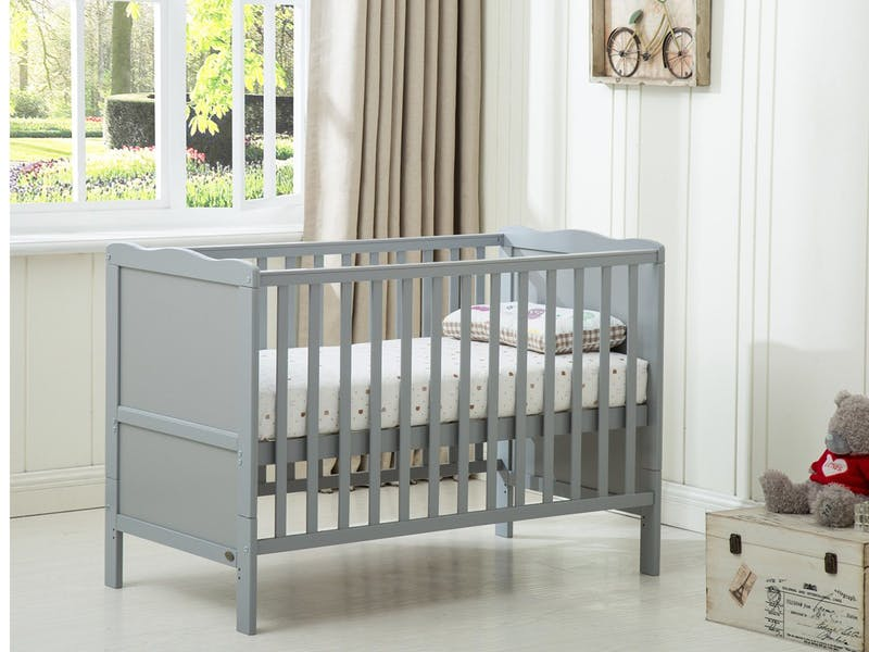 2. Mcc® Grey Cot Bed