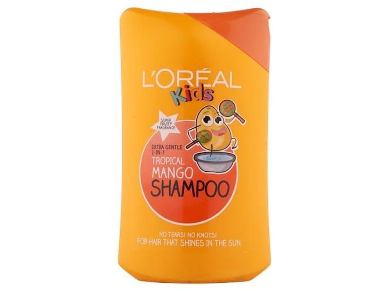 4. L'Oréal Paris Kids 2-in-1 Tropical Mango Shampoo