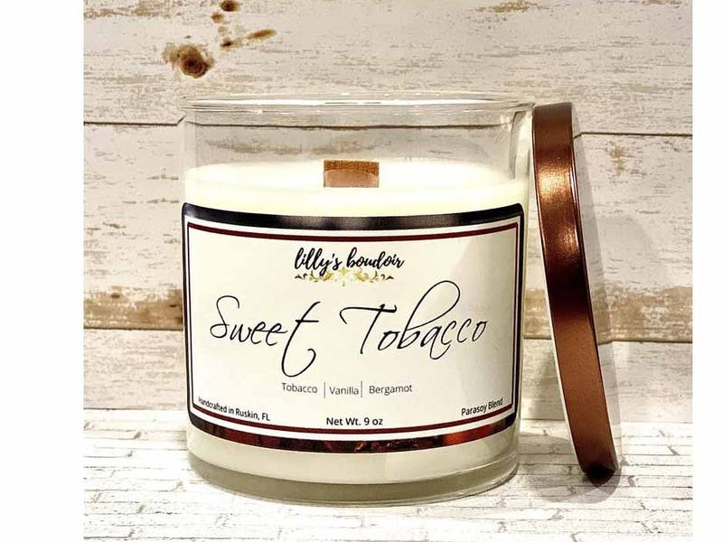 Sweet Tobacco Scented Candle