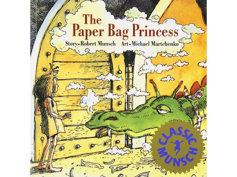 6. The Paper Bag Princess by Robert Munsch