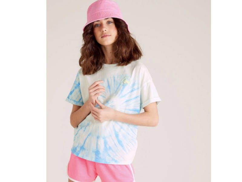 Pure Cotton Tie Dye T-Shirt