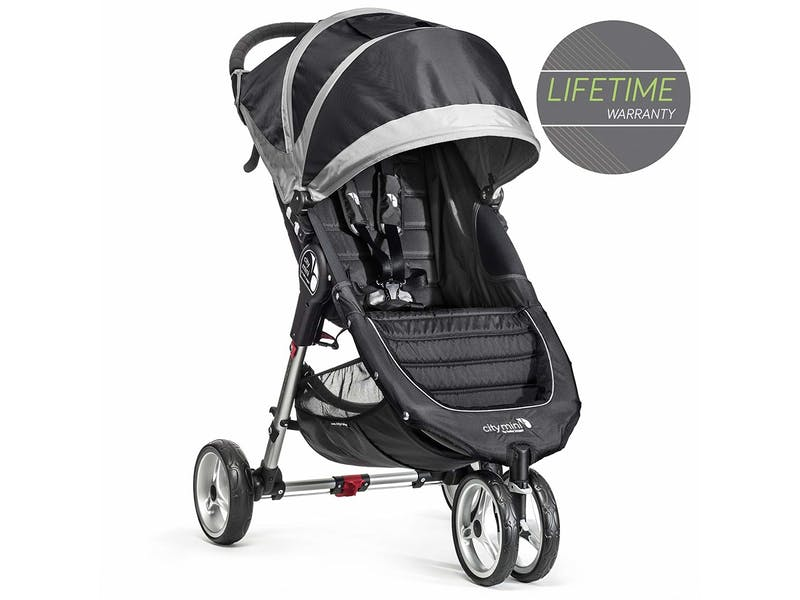 1. Baby Jogger City Mini Single Stroller Black