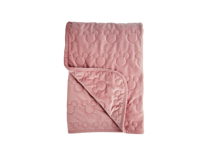 7. Minnie Velvet Throw, £12
