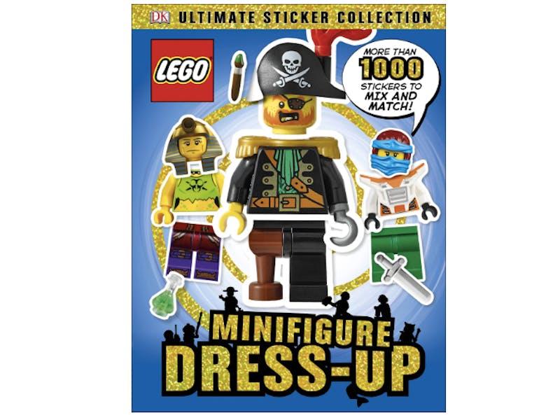 5. Minifigures Sticker Book
