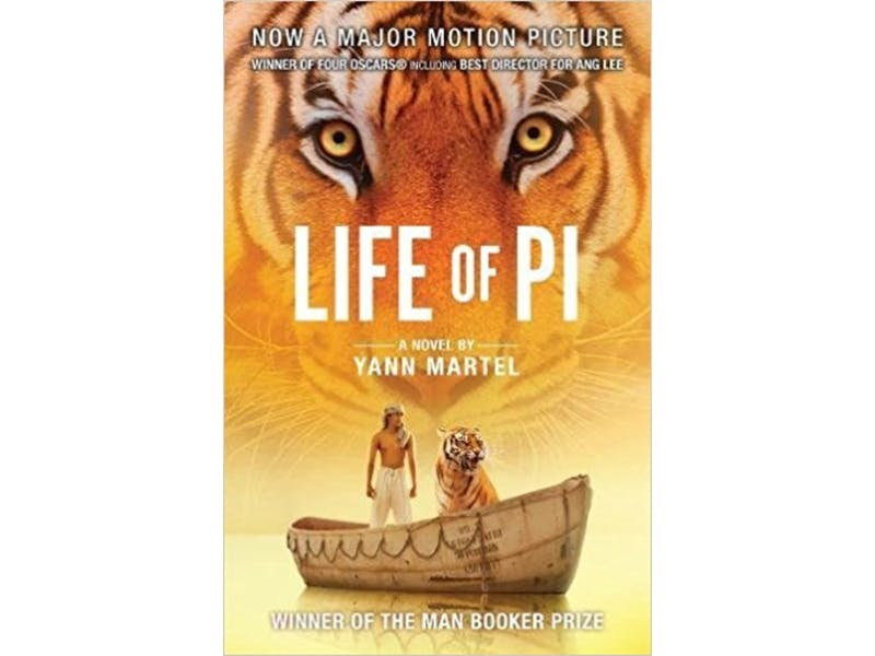 17. Life of Pi by Yann Martel