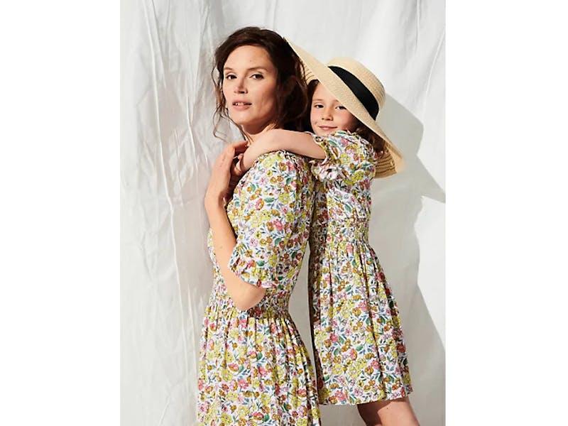 Mini Me x Ghost Floral Print Dress