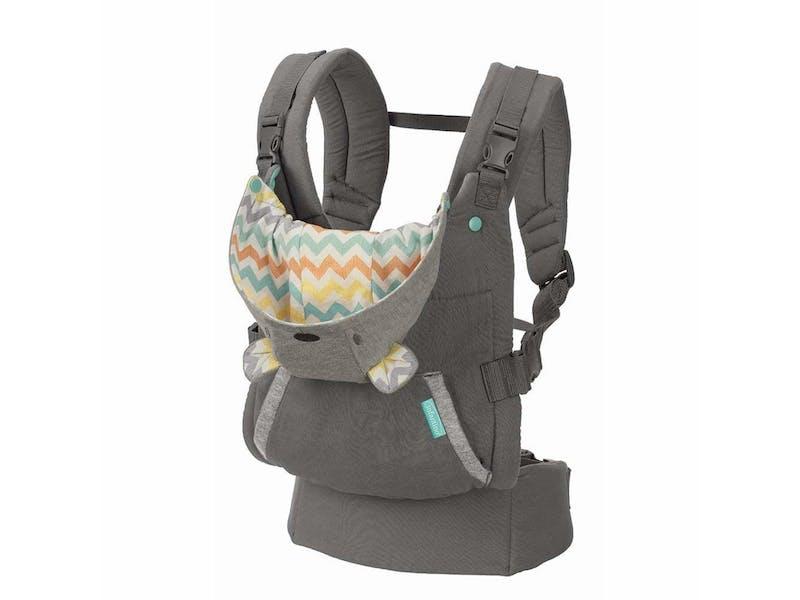 3. Infantino Cuddle Up Ergonomic Hoodie Carrier