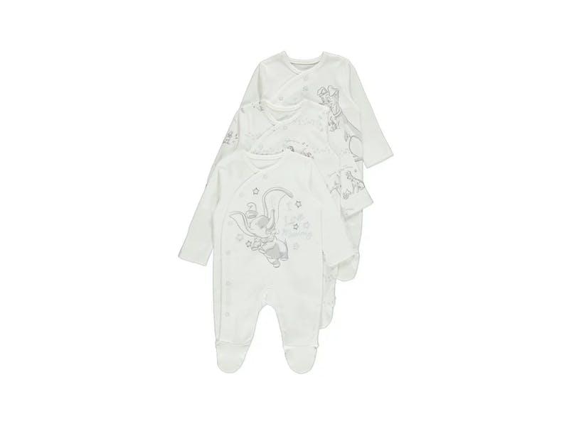 5. 3-pack sleepsuits, £11