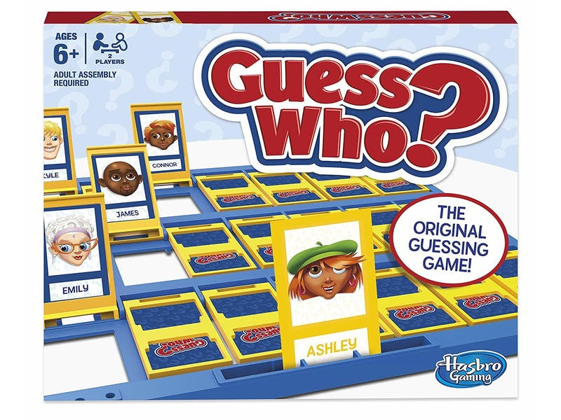 5. Hasbro Gaming Guess Who? Classic Game