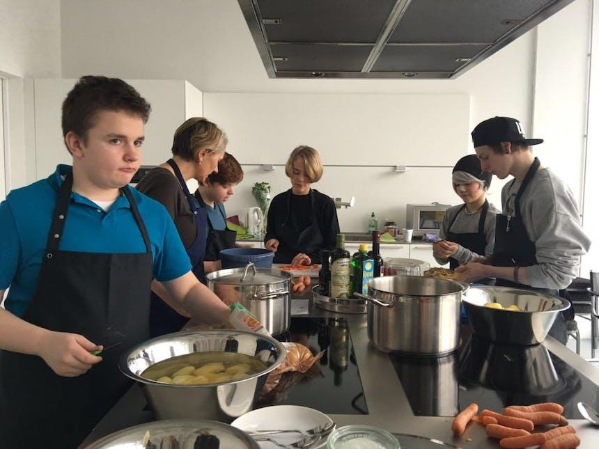 Talents kochen