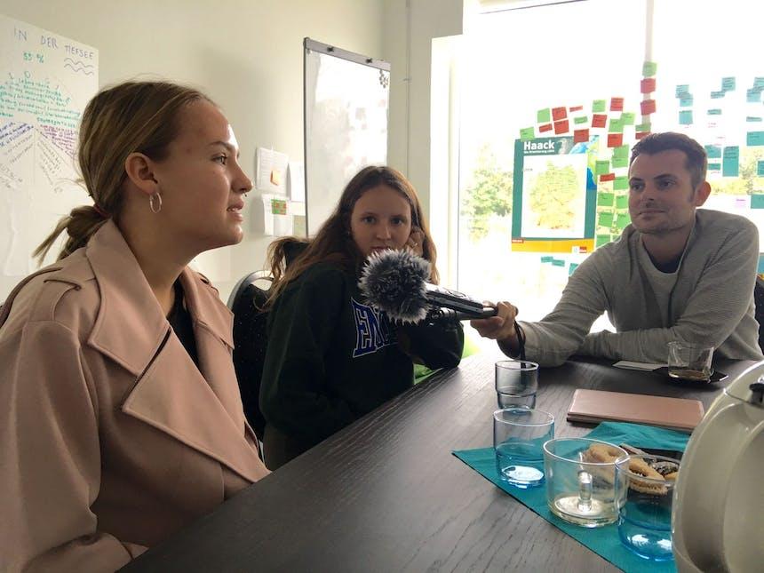 Tim Wiese interviewt Talents