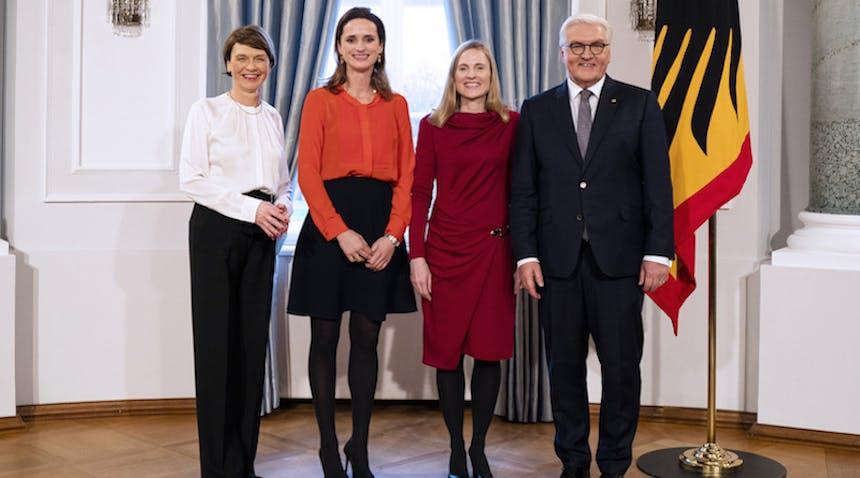 Neujahrsempfang mit STARTUP TEENS Steinmeier