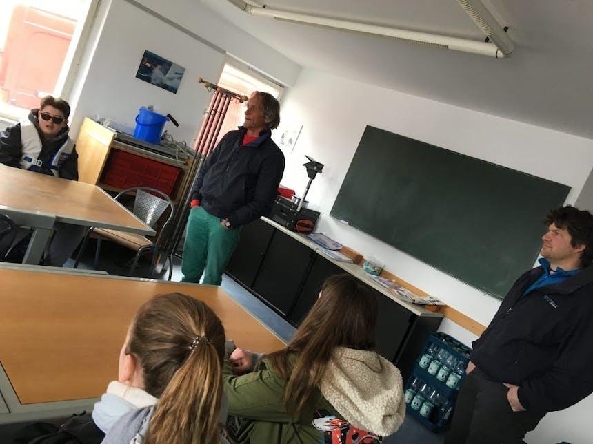 talents im Klassenraum