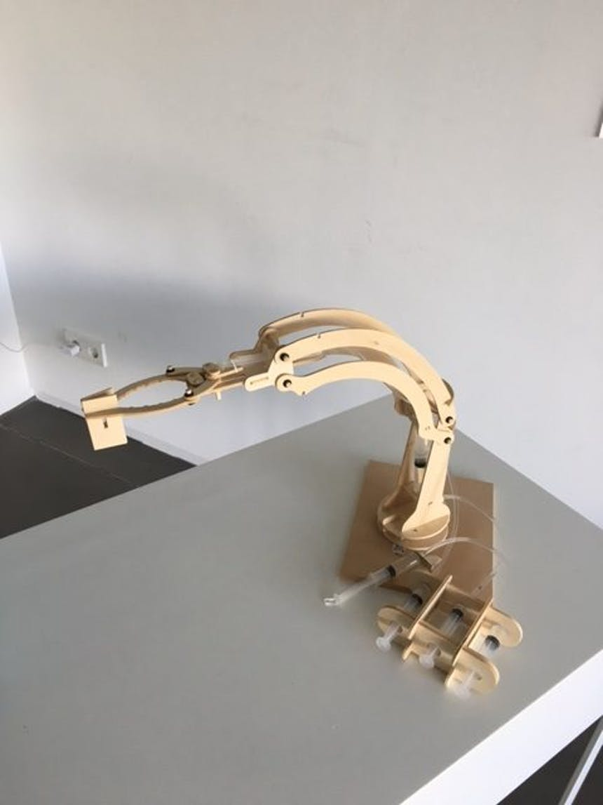 Hydraulik Roboterarm