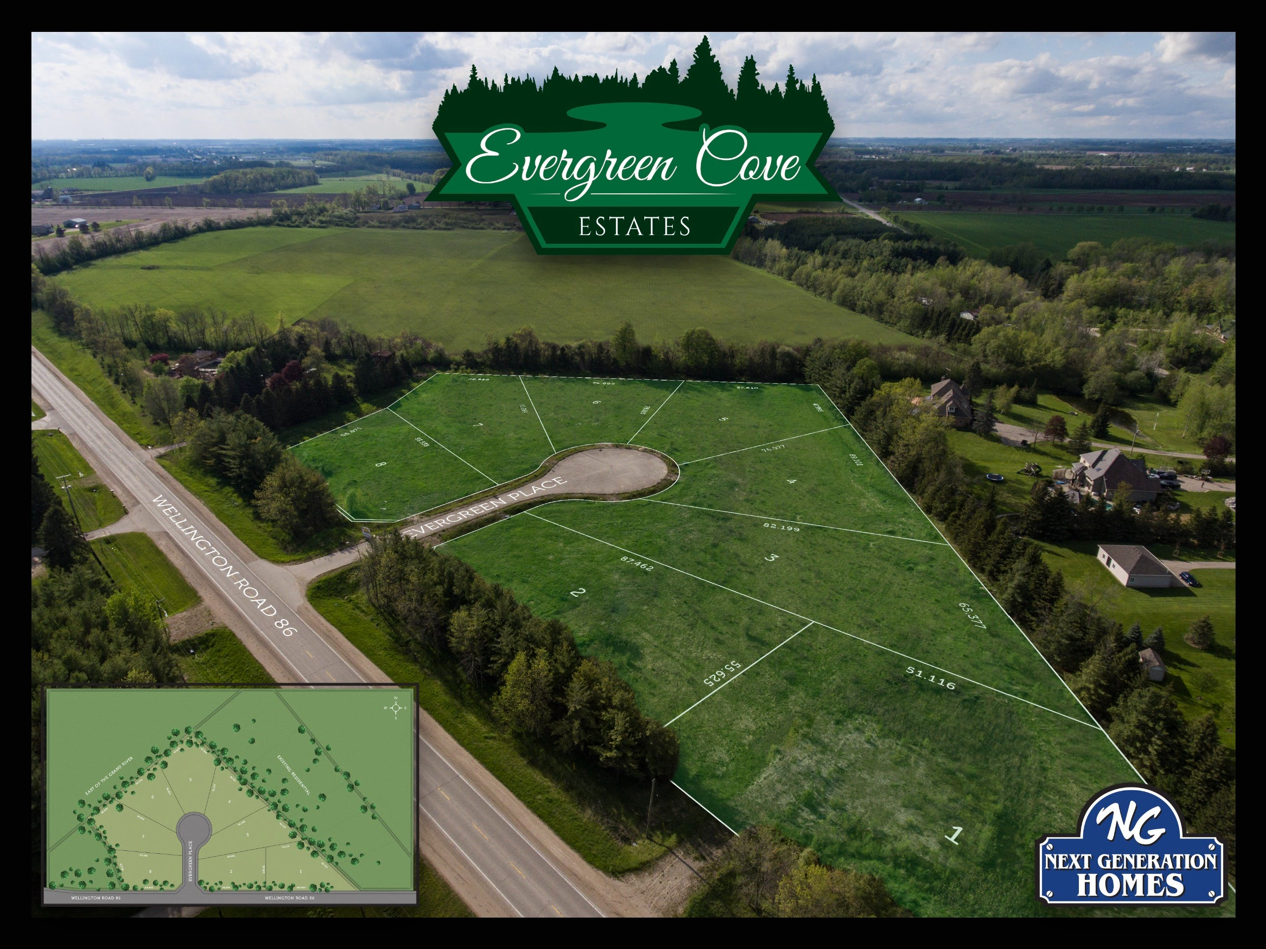 Evergreen Site Map Overlay