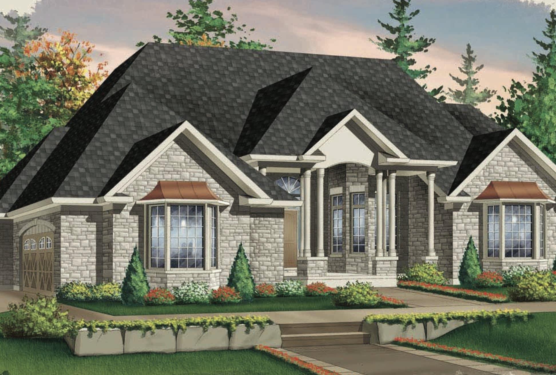 Exterior Home Rendering