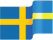 illustration of Swedish flag