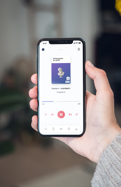 Easyllabus - Mockup main Mobile app