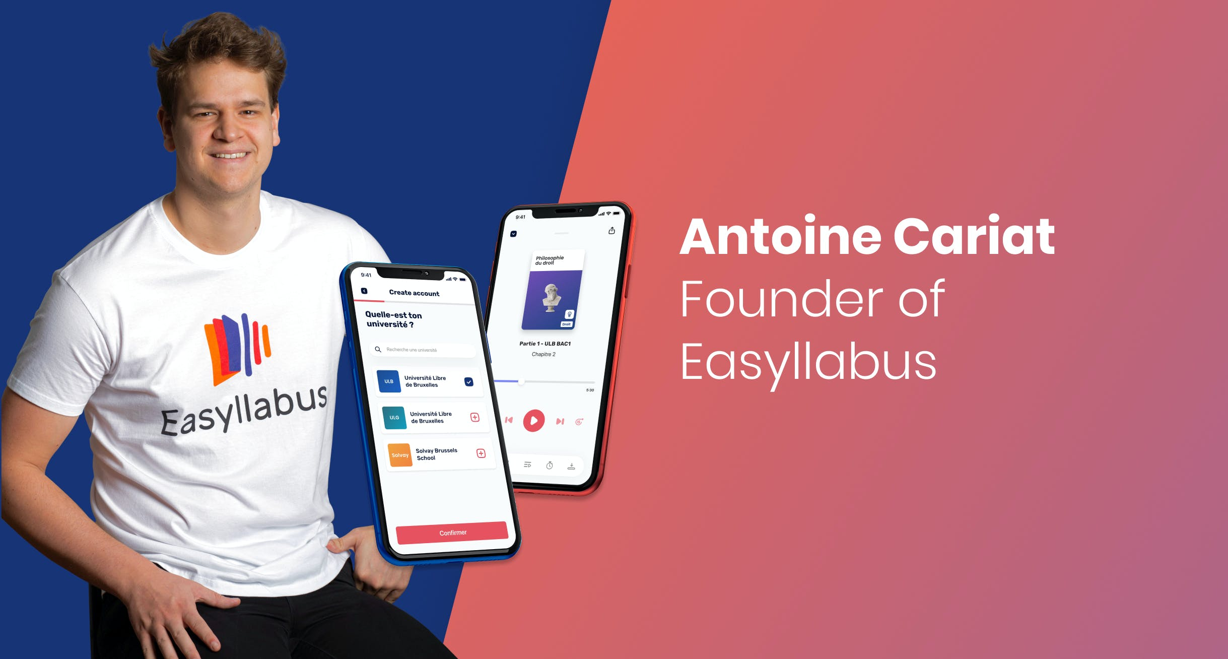 Nightborn - Interview with Antoin Cariat - Founder of Easyllabus