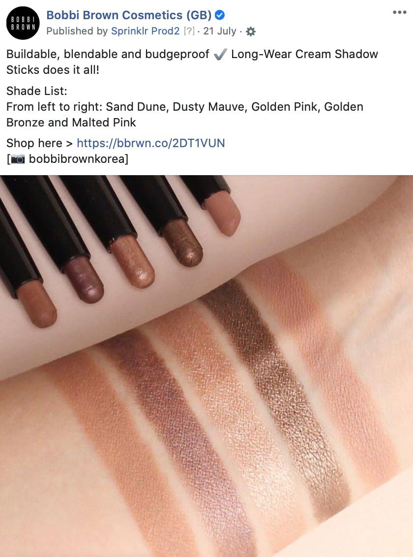 Cream Shadows