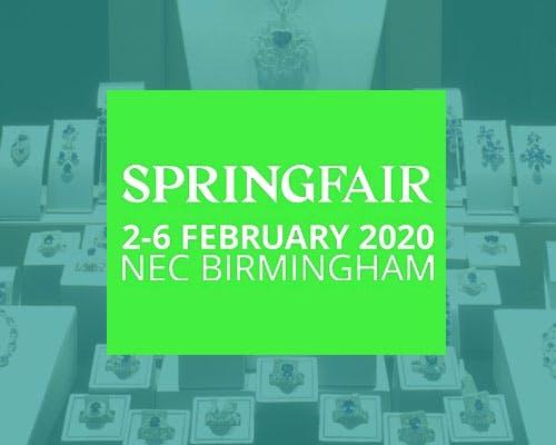 Spring Fair Birmingham 2020