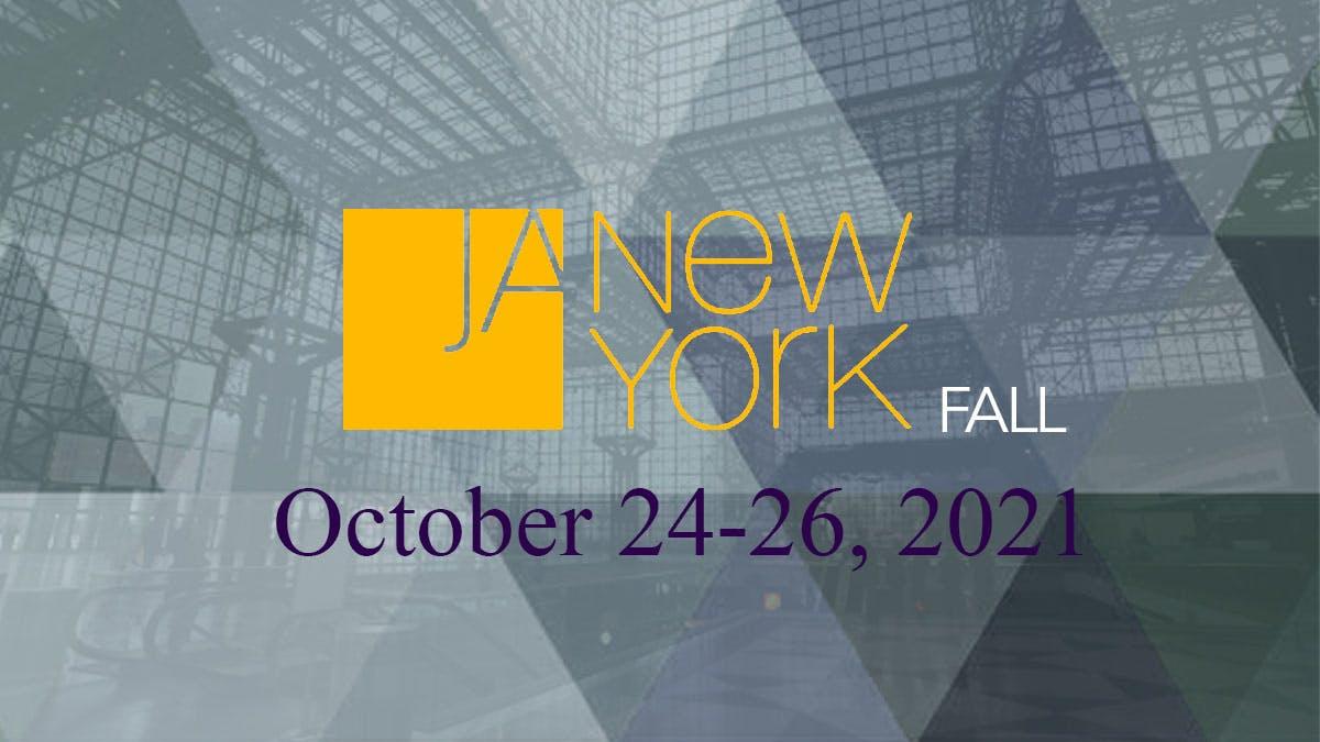 JA New York Fall Jacob Javits Convention Center NYC October