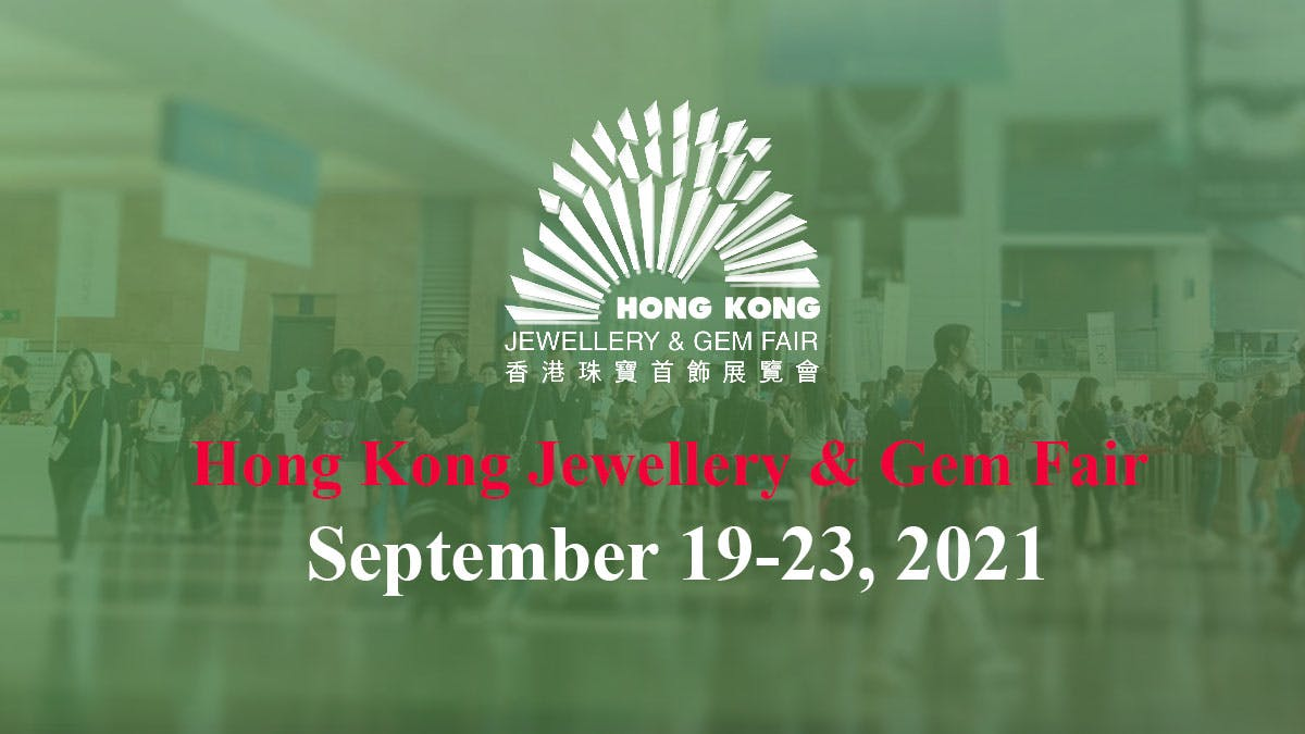 Sep Hong Kong Jewellery & Gem Fair HK Convention and Exhibition Centre September Wan Chai