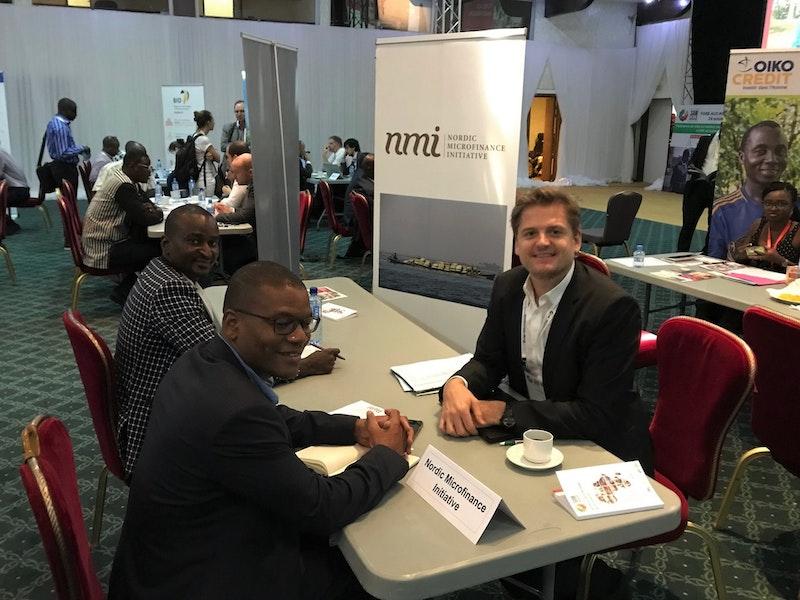 NMI Speed Dating at African Microfinance Week